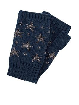accessorize-sparkle-star-jacquard-long-cut-off-mittens-navy