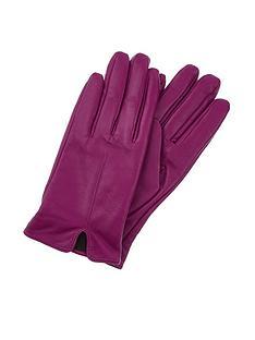 accessorize-basic-leather-gloves-purple