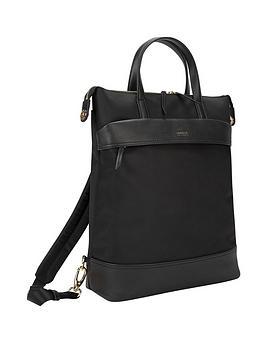 Targus Targus Newport 15 Inch Laptop Convertible Tote Backpack - Black Picture
