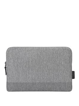 Targus   Citylite Laptop Sleeve Specifically Designed To Fit 12 Inch Macbook - Grey