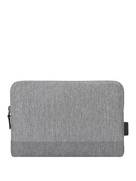 Targus   Citylite Laptop Sleeve Specifically Designed To Fit 13 Inch Macbook Pro - Grey
