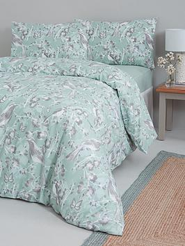 Everyday Collection Everyday Collection Bird Floral Complete Bed Set Picture