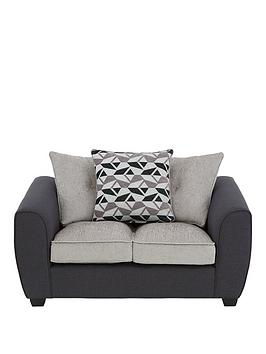 Juno Fabric Compact Scatter Back 2 Seater Sofa