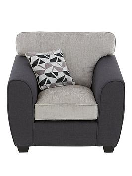 Very Juno Fabric Compact Armchair Picture