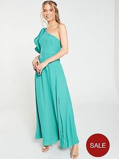 v-by-very-one-shoulder-soft-maxi-dress-turquoise