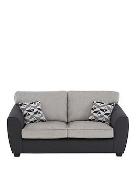 Very Juno Fabric Compact Standard 3 Seater Sofa Picture