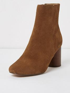 river-island-river-island-block-heeled-ankle-boot--light-brown