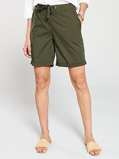 v-by-very-longer-length-poplin-shorts-khaki