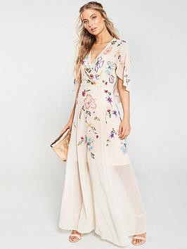 v-by-very-embellished-cape-maxi-dress-blush