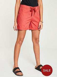 v-by-very-poplin-shorts-coral