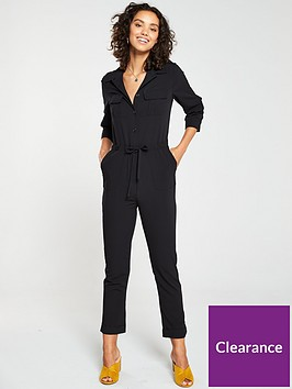 v-by-very-utility-jumpsuit-black