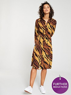 v-by-very-tie-waist-shirt-dress-tiger-print