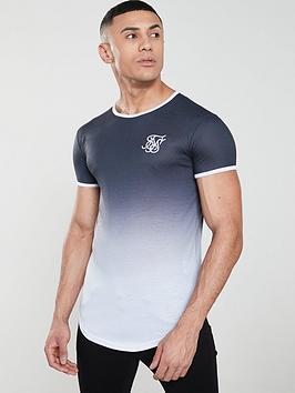 sik-silk-ringer-fade-gym-t-shirt-anthracite