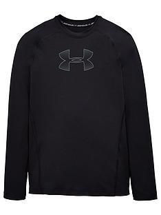 under-armour-youth-heatgear-long-sleeve-t-shirt-blackgrey