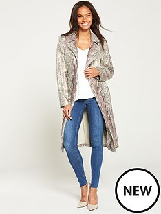 v-by-very-snake-print-wrap-trench-coat