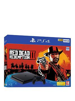 playstation-4-red-dead-redemption-2-500gb-console-bundlenbspwith-optional-extras