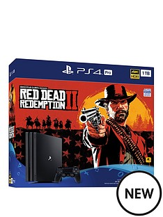 playstation-4-red-dead-redemption-2-ps4-pro-console-bundle-withnbspoptional-extras