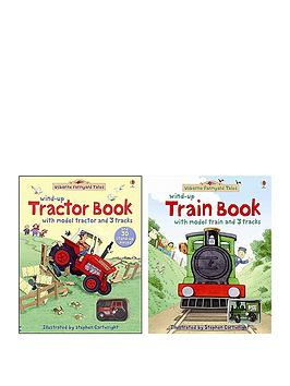 Very  Farmyard Tales Wind-Up Tractor Book & Train Book
