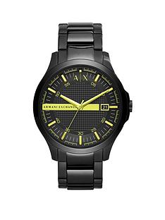 armani-exchange-armani-exchange-black-and-green-detail-date-dial-black-stainless-steel-bracelet-mens-watch