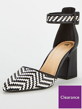 v-by-very-charlotte-woven-2-part-point-court-shoe-multi