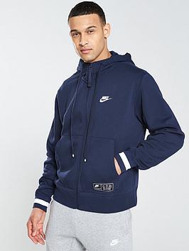 nike-sportswear-air-fleece-full-zip-hoodie-navy