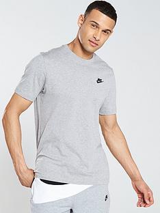 nike-sportswear-club-t-shirt-dark-grey-heather