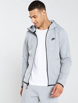 Nike Nike Sportswear Tech Fleece Full Zip Hoodie - Dark Grey Picture