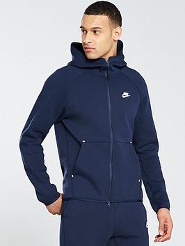 Nike Nike Sportswear Tech Fleece Full Zip Hoodie - Obsidian Picture