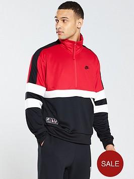 purchase cheap 0dbe1 a8315 Nike Sportswear Air Half Zip Jacket - University Red