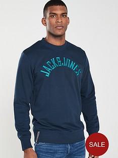 jack-jones-originals-melvin-brushed-back-crew-neck-sweatshirt-navy