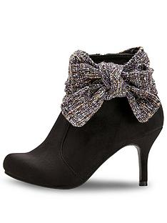 b129b57f24c Joe Browns Boutiquey Bow Boots - Black Multi