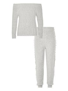 river-island-girls-grey-pearl-embellished-jumper-outfit