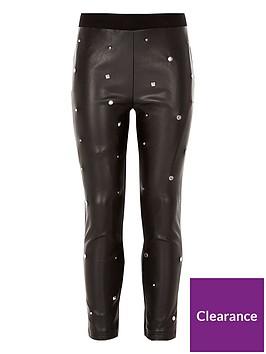 river-island-girls-black-studded-leggings