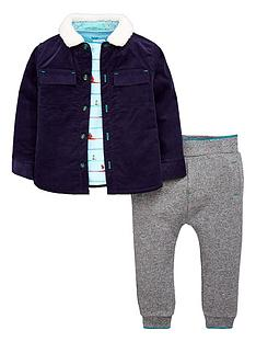 df38f5230 Baker by Ted Baker Baby Boys Shacket Tshirt   Jogger Outfit