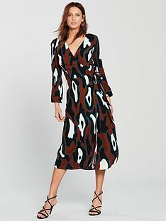 vero-moda-isla-wrap-dress-print