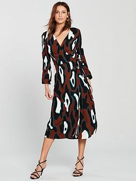 vero-moda-isla-wrap-dress-print
