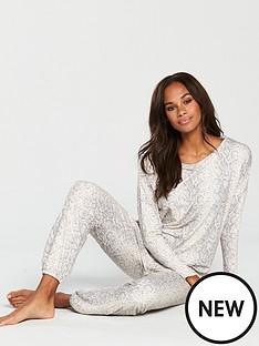 v-by-very-snake-print-jersey-pyjama-set-printednbsp