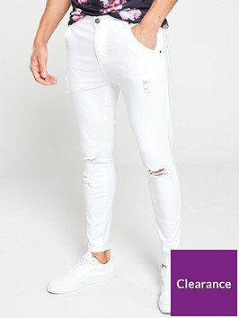 sik-silk-skinny-denim-jeans-white