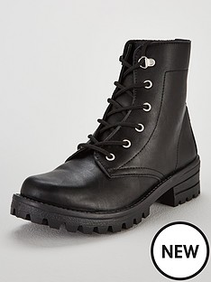 v-by-very-felix-flat-lace-up-boot-blacknbsp
