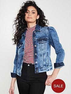 070136519a Blue | Denim Jackets | Coats & jackets | Women | www.littlewoods.com