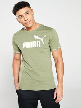 puma-amplified-big-logo-t-shirt-olivinenbsp