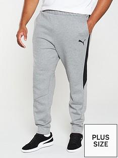 puma-plus-size-evostripe-core-joggersnbsp--grey