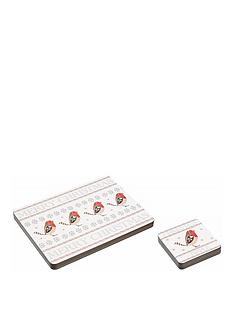 kitchencraft-little-red-robin-placemats-and-coasters-set-of-4