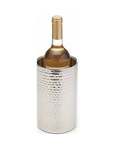 kitchencraft-barcraft-double-walled-hammered-stainless-steel-wine-cooler