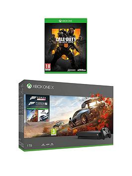xbox-one-x-forza-horizon-4-andnbspforza-7-1tb-console-bundle-with-call-of-duty-black-ops-4nbspand-optional-extras