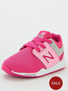 new-balance-247-infant-hook-and-loop-trainers-pinkwhite