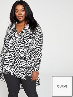 v-by-very-curve-waterfall-dipped-hem-wrap-blouse-animal-print