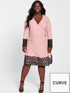 little-mistress-curve-little-mistress-curve-crochet-trim-wrap-dress