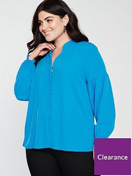 junarose-curve-kasiuz-long-sleeve-blouse-blue