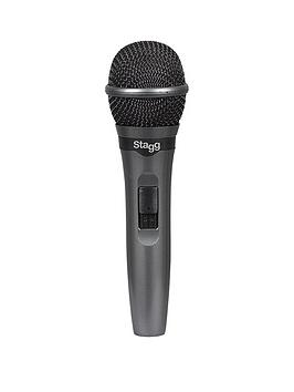 stagg-stagg-live-stage-dynamic-microphone-with-cable-and-carry-box